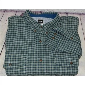 The North Face Mens Plaid Long Sleeve